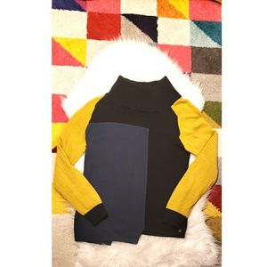 Skunkfunk artsy asymmetrical sweater
